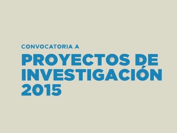 Convocatoria a Proyectos de Investigación UBP 2015