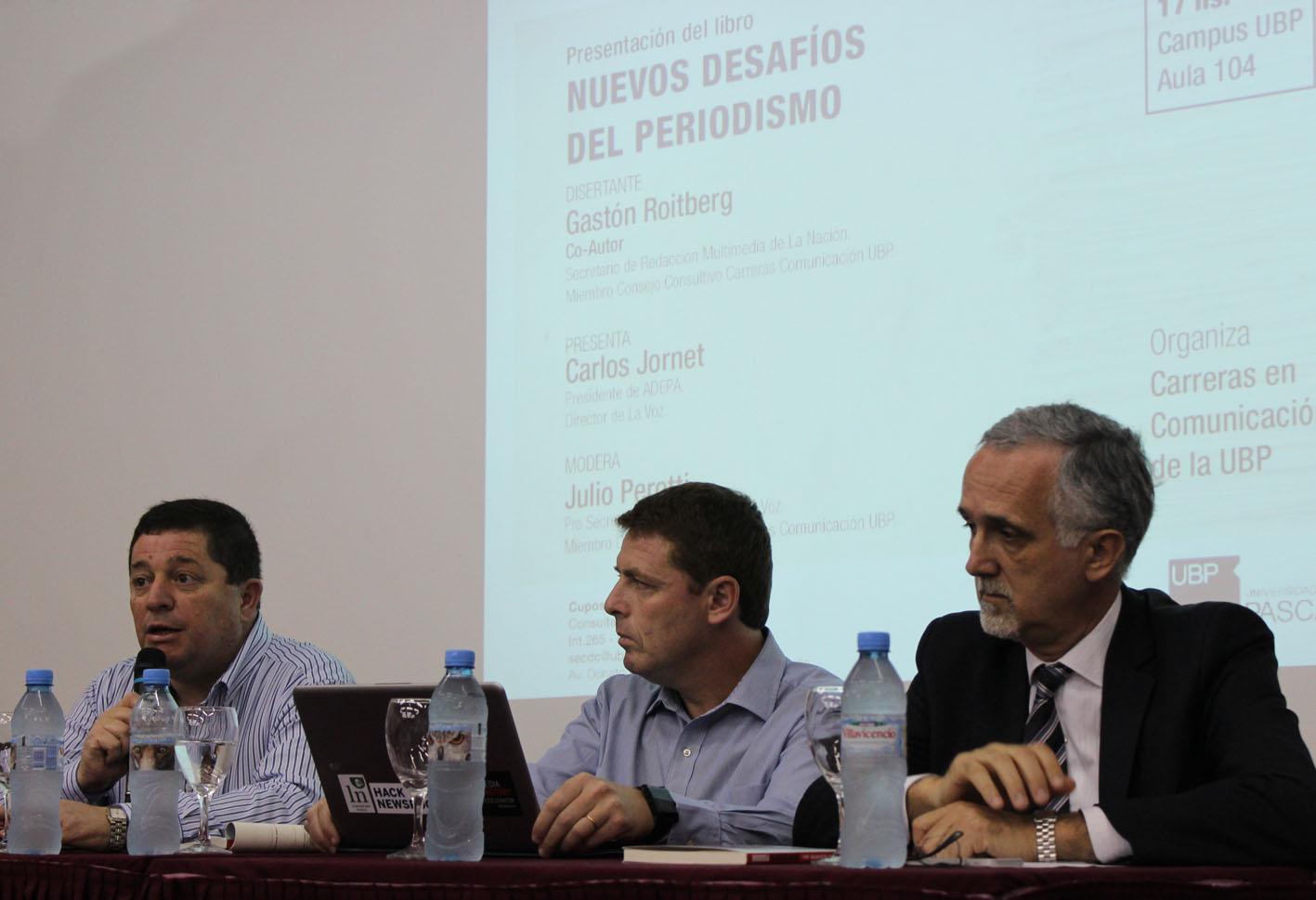 """Presentación del libro """"Nuevos desafíos del periodismo"""""""